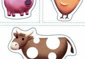 Puzzle les animaux de la ferme