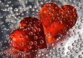 Puzzle coeur goutte