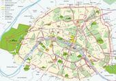 Puzzle Taquin Carte de Paris