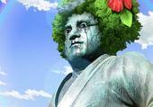 Taquin Statue