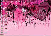 Puzzle en ligne coeur pink