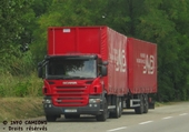 Puzzle scania camion