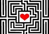 Puzzle labyrinthe du coeur