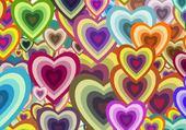 coeurs en couleurs