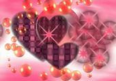 Jeux de puzzle : coeurs