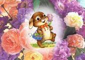 Puzzle Puzzle joyeuses Pâques