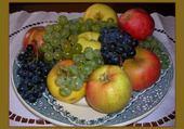 Jeux de puzzle : fruits d'automne