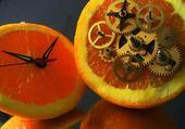Puzzle orange mécanique