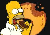Puzzle HORMER SIMPSON ET SON Donuts !!!