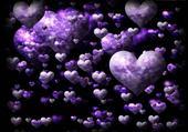 Jeu puzzle coeur en coeur