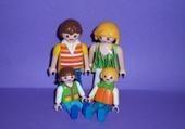 Puzzle en ligne Playmobils