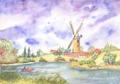 Taquin moulin anglais