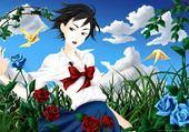 Jeux de puzzle : manga