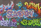 Jeux de puzzle : scooby doo graffiti