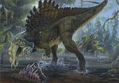 Jeux de puzzle : spinosaurus