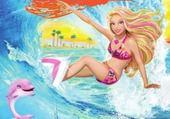 Taquin barbie et le secret des sirènes