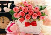 Puzzle Puzzles coeur de roses
