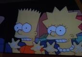 Jeu puzzle Bart et Lisa Simpson