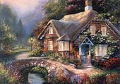 Jeux de puzzle : cottage 7