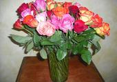 Puzzles bouquet de roses