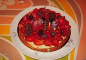 Puzzles Belle tarte aux fruits rouges
