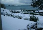 Puzzle plougasnou sous la neige
