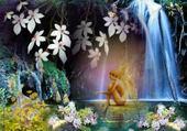 Jeux de puzzle : paysage paradisiaque