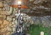 Lampe de chevet originale !
