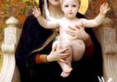 Puzzle Puzzle La Vierge Marie et l'enfant Jésus