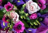 Puzzles fleurs d amour