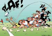 Jeux de puzzle : rugby