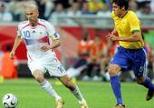 Jeu puzzle France Brésil 2006