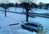 C5  sous la neige