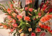 Puzzle gratuit roses et glaïeuls