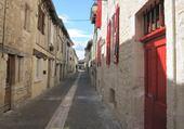 Puzzle en ligne Rue d'un village