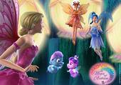 Puzzle barbie fairytopia