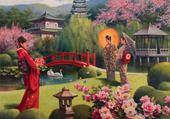 Puzzle en ligne jardin chinois