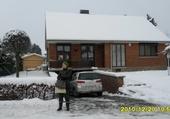 Puzzle en ligne Ma maison en hiver