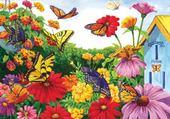 Puzzle gratuit jardin