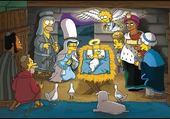 Puzzle les simpsons !! noel!