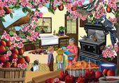 Puzzle gratuit chez grand mère