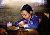 Puzzle Puzzle en ligne fillette à l'heure du déjeuner