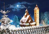 Puzzle gratuit neige