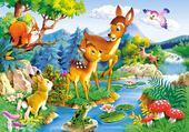 Puzzle gratuit les amis de la forêt