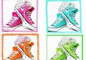 Puzzle converse multicolor