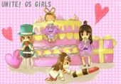 Jeu puzzle Girls Power
