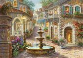 Puzzle rue des fleurs