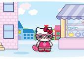 Puzzle hello kitty mode shopping