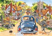 Puzzle grosse voiture