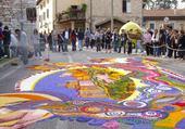 Puzzle gratuit Infiorata en Italie